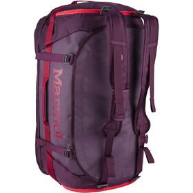 Marmot Long Hauler Duffel Bag Largo, dark purple/brick